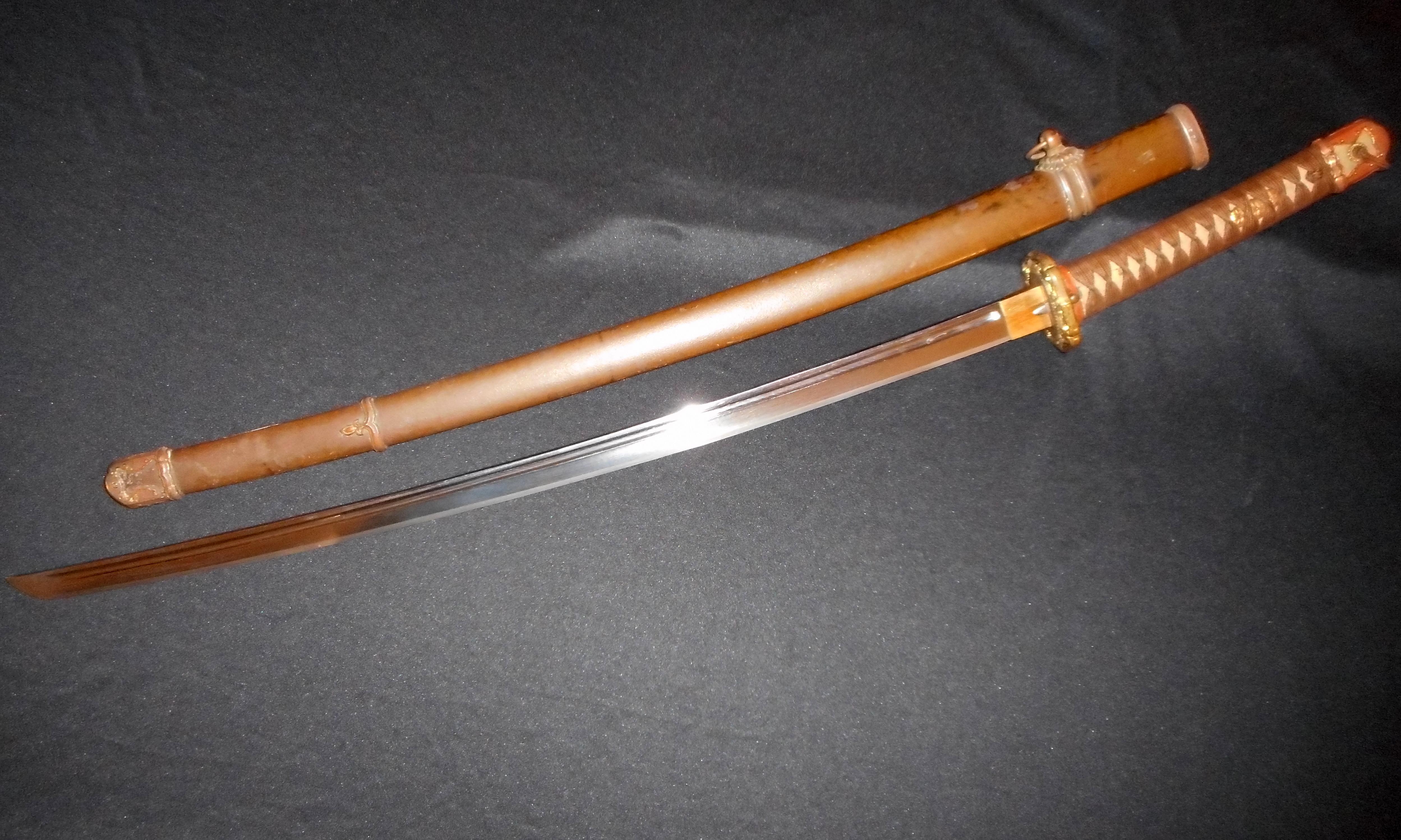 RARE MURATATO--WW2 Japanese Samurai Sword -Old/Antique ...