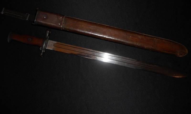 Springfield M1905 M1 Garand Bayonet -US WW1/WW II/WW2 Knife