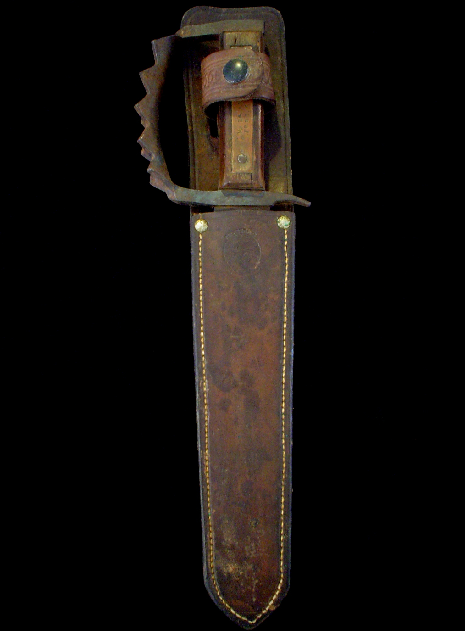 Antique US WW2 Taylor-Huff Knuckle Knife -Fighting/Combat Collection