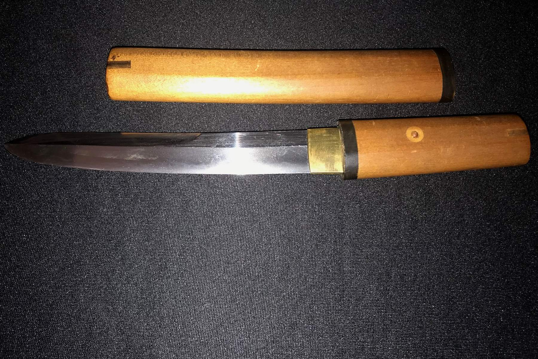 Japanese Samurai Tanto Sword Dagger Old Antique Ww2 Army