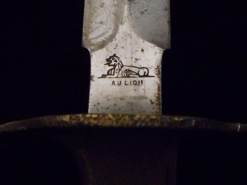 1918 Us Wwi Ww Ii Au Lion Mark 1 Trench Knife Fighting