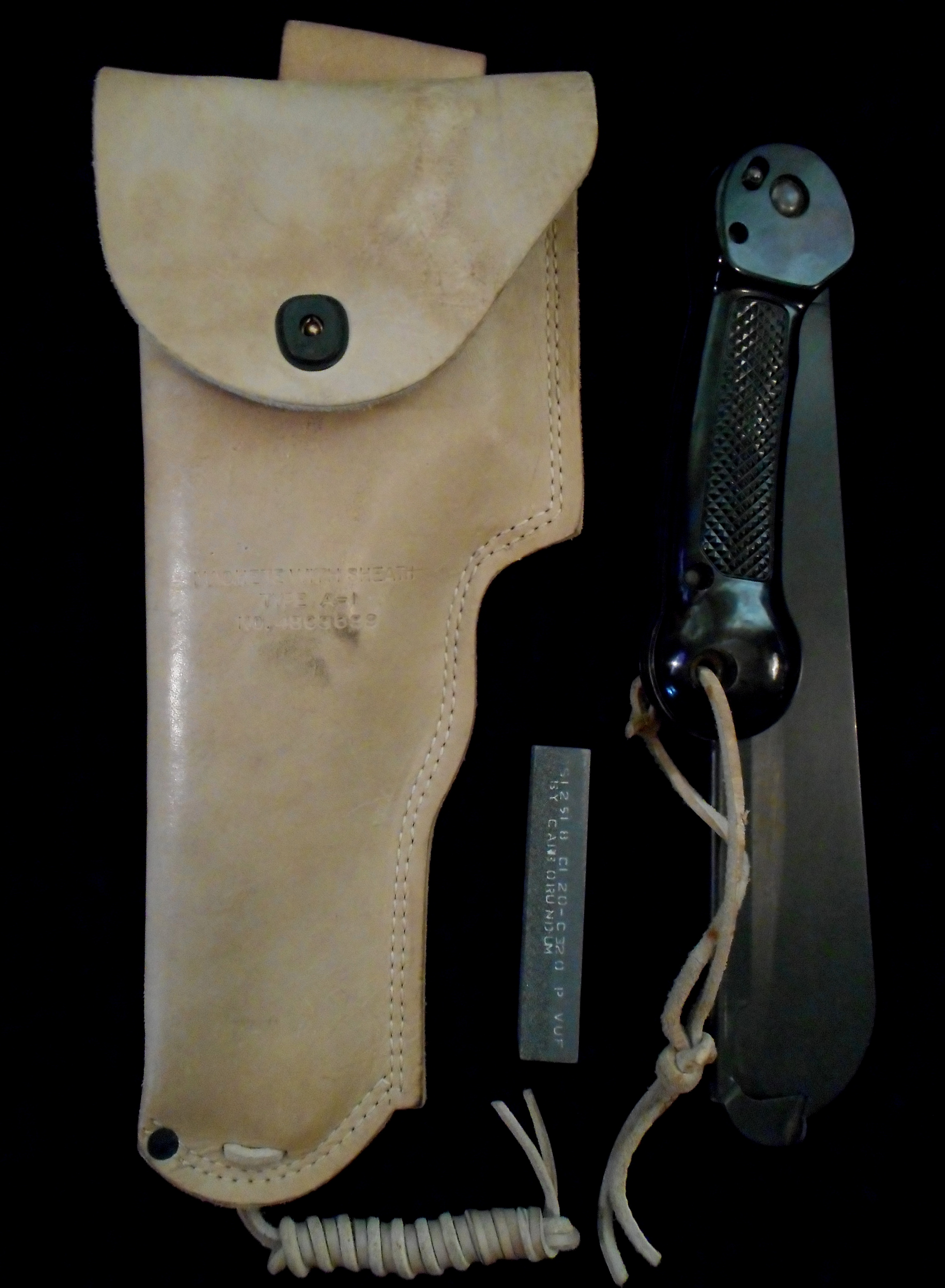 Vtg Us Ww2 Imperial Army Air Force Survival Machete Knife
