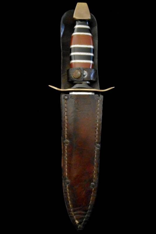 Exceptional Ww Ii Theater Trench Art Dagger Us Ww2