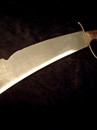 Us Ww2 Woodsman S Pal Bolo Fighting Machete Knife